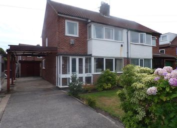 Thumbnail 3 bed semi-detached house for sale in Hurstway Close, Fulwood, Preston