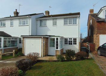 Thumbnail 3 bed semi-detached house to rent in Quebec Close, Bexhill-On-Sea