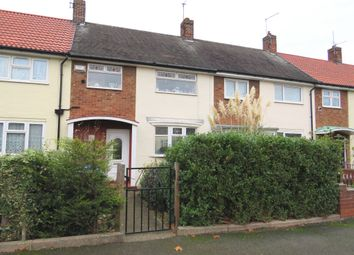 Thumbnail 2 bed terraced house for sale in Dodswell Grove, Hull