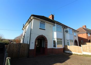 Thumbnail 3 bed semi-detached house for sale in Moorthorne Crescent, Newcastle-Under-Lyme