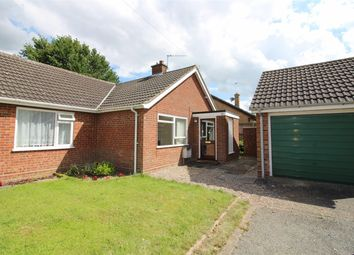 Thumbnail 2 bedroom semi-detached bungalow for sale in Clarkson Road, Lingwood, Norwich