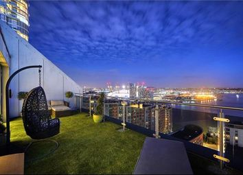 Thumbnail 3 bed flat for sale in Streamlight Tower, 9 Province Square, London