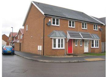 Thumbnail 3 bed detached house for sale in Copper Beech Drive, Tredegar
