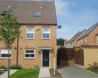 Thumbnail 3 bedroom end terrace house for sale in Cascade Way, Dudley