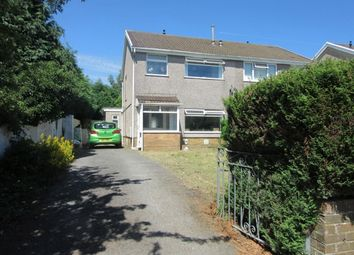 Thumbnail 3 bedroom semi-detached house to rent in Sardis Close, Waunarlwydd, Swansea.