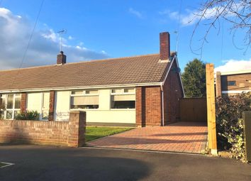 Thumbnail 2 bed semi-detached bungalow for sale in Larchcroft Road, Ipswich