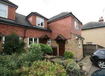 Thumbnail 2 bed end terrace house to rent in Wells View Cottages, Woodlands Road, Epsom