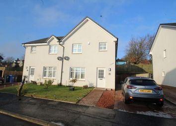 Thumbnail 3 bed semi-detached house for sale in Breichwater Place, Fauldhouse, Bathgate