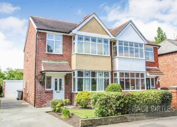 Thumbnail 3 bed semi-detached house for sale in Westgate, Urmston, Manchester