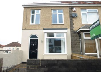 Thumbnail 3 bedroom end terrace house for sale in Bloomfield Road, Brislington, Bristol