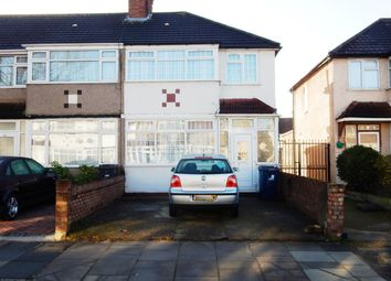 Thumbnail 3 bedroom end terrace house for sale in Derley Road, Southall