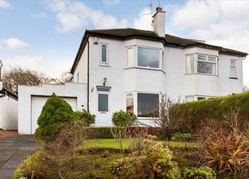 Thumbnail 3 bed semi-detached house for sale in Crosslees Park, Thornliebank, Glasgow