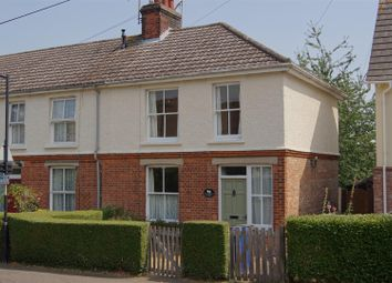 Thumbnail 3 bed end terrace house for sale in Grove Road, Bury St. Edmunds