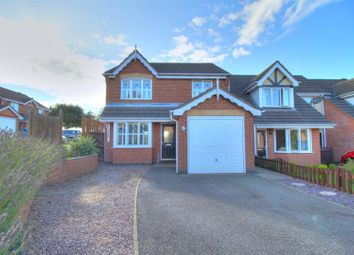 Thumbnail 3 bedroom detached house for sale in Byrton Drive, Ellistown, Coalville