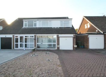 Thumbnail 4 bed semi-detached house for sale in Stains Close, Cheshunt, Herts