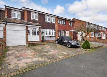 Thumbnail 5 bed terraced house for sale in Navarre Gardens, Romford, Essex