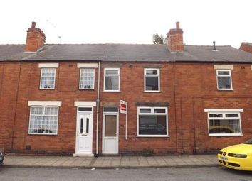 Thumbnail 2 bed terraced house for sale in Hall Street, Mansfield, Nottinghamshire