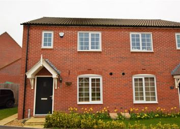 Thumbnail 3 bed semi-detached house for sale in The Furrows, Moulton, Northampton