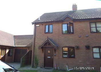 Thumbnail 3 bed semi-detached house to rent in Woodfield Close, Shadingfield, Beccles
