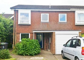 Thumbnail 4 bed semi-detached house to rent in Rushmead Close, Canterbury