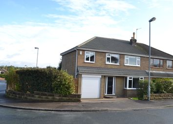 Thumbnail 4 bed semi-detached house for sale in Pippins Green Avenue Kirkhamgate, Wakefield