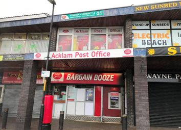 Thumbnail Retail premises for sale in Acklam Road, Middlesbrough