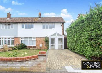 Thumbnail 4 bed semi-detached house for sale in Holden Road, Basildon, Essex
