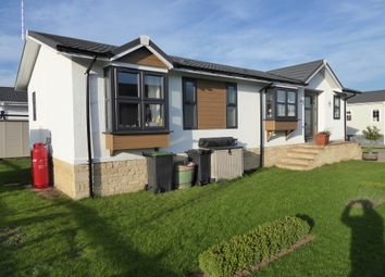 Thumbnail 2 bedroom mobile/park home for sale in Yarwell Mill Park, Yarwell, Northamptonshire