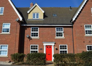Thumbnail 3 bed terraced house for sale in Deas Road, South Wootton, King's Lynn