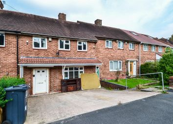 Thumbnail 3 bed terraced house to rent in Heronswood Road, Rednal, Birmingham