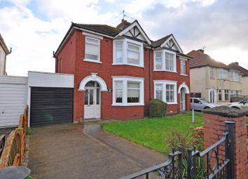 Thumbnail 3 bed semi-detached house for sale in Ideal Family Home, Cardiff Road, Newport