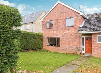 Thumbnail 4 bed link-detached house for sale in Great North Road, Eaton Ford, St. Neots