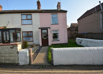 Thumbnail 3 bed end terrace house to rent in Church Road, Kessingland, Lowestoft