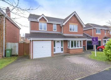 Thumbnail 4 bedroom detached house for sale in Hookacre Grove, Priorslee, Telford, Shropshire
