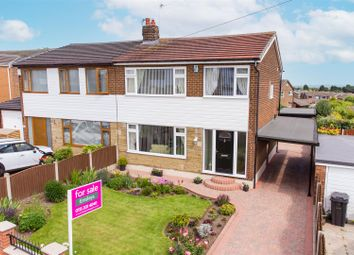 Thumbnail 3 bed semi-detached house for sale in Parkways, Oulton, Leeds