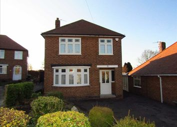 Thumbnail 3 bed detached house for sale in Moorfields Avenue, Eastwood, Nottingham
