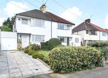 Thumbnail 3 bedroom semi-detached house for sale in Potter Street, Northwood, Middlesex