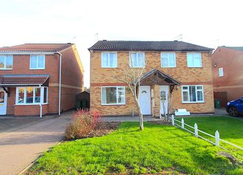 Thumbnail 3 bed semi-detached house for sale in Oakwood Close, Leicester Forest East, Leicester