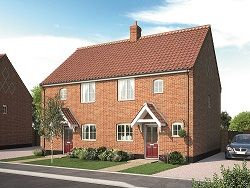 Thumbnail 2 bed semi-detached house for sale in Bull Lane, Long Melford, Sudbury