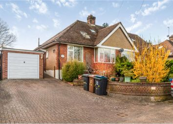 Thumbnail 4 bed semi-detached bungalow for sale in Royston Road, Buntingford