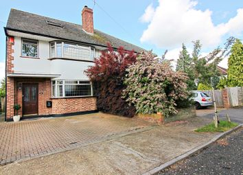 Thumbnail 4 bed semi-detached house for sale in Lyndhurst Avenue, Sunbury-On-Thames