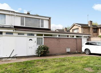 Thumbnail 3 bedroom end terrace house for sale in Vicarage Close, Oxford OX4,