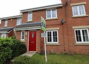 Thumbnail 3 bed terraced house to rent in Archdale Close, Derby Road, Chesterfield, Derbyshire