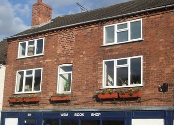 Thumbnail 3 bed flat for sale in High Street, Wem, Shrewsbury