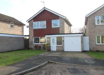 Thumbnail 3 bed detached house to rent in Crown Crescent, Ixworth, Bury St. Edmunds