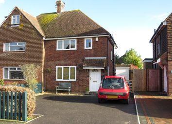 Thumbnail 3 bed semi-detached house for sale in Lansdowne Drive, Hailsham
