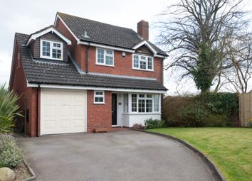 Thumbnail 4 bed detached house for sale in Wollerton Grove, Sutton Coldfield