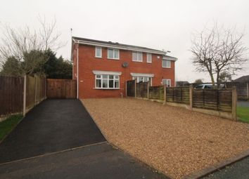 Thumbnail 2 bed semi-detached house to rent in Beeston Ridge, Stafford