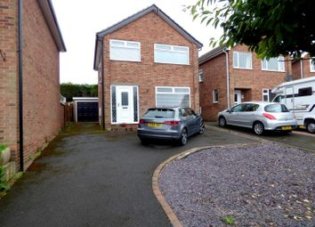Thumbnail 3 bed detached house for sale in Anne Potter Close, Ockbrook, Derby
