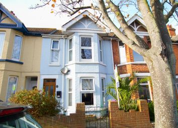 Thumbnail 3 bed terraced house for sale in St. Francis Road, Folkestone